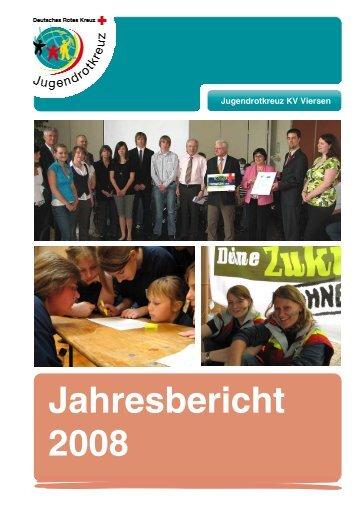 Jahresbericht 2008 (PDF-Format) - DRK Kreisverband Viersen e.V.