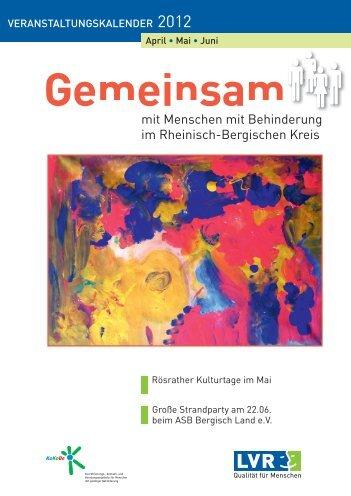 Mo. 09.04. - KoKoBe Rheinisch Bergischer Kreis
