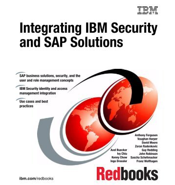 Integrating IBM Security and SAP Solutions - IBM Redbooks