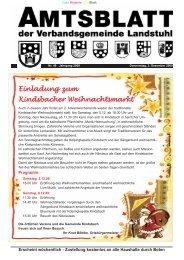 St.-Andreas-Markt 2009 - Verbandsgemeinde Landstuhl