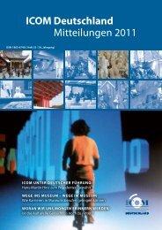 ICOM Deutschland Mitteilungen 2011