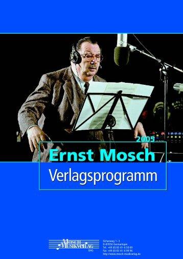 New Title - Ernst Mosch - Musikverlag