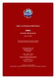 Katalog für Hersteller: Moskovskaya - whiskytrader