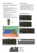 Tennis Anzeigetafel - Seite 2