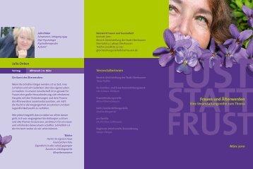 s. Flyer im PDF-Format - Frauen helfen Frauen
