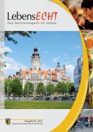 Das Seniorenmagazin für Leipzig - LebensECHT