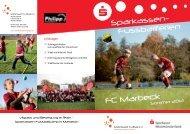 Sparkassen- Fussballferien FC Marbeck - FC Marbeck 58 eV