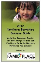 Summer Events in Adams - Northern Berkshire Community Coalition