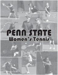 2008-09 penn state women's tennis roster - Community