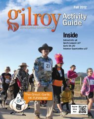 Activity Guide - City of Gilroy