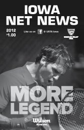 IOWA NET NEWS 2012 - USTA.com