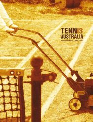 Tennis Australia Annual Report 2001-2002 - Australian Sports ...