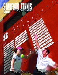 Stanford Tennis School - Netitor