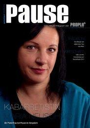 Pause - Inflight Magazin People's Viennaline Nr. 8