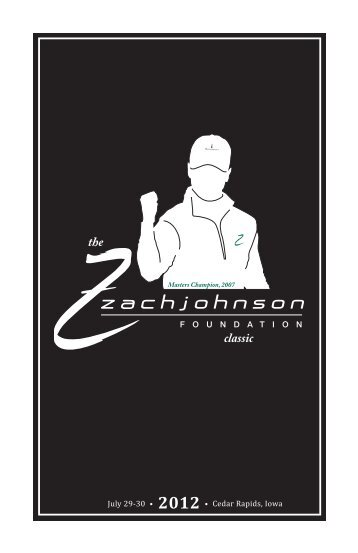 Auction Items - Zach Johnson