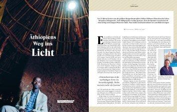 Äthiopiens Weg ins Licht - Project-E
