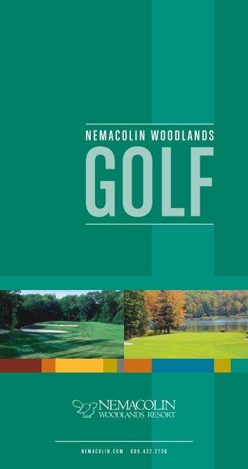 09 golf broc.indd - Nemacolin Woodlands Resort