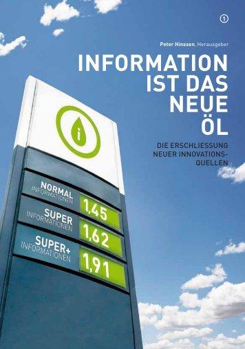 INFORMATION IST DAS NEUE ÖL - Data Science Series