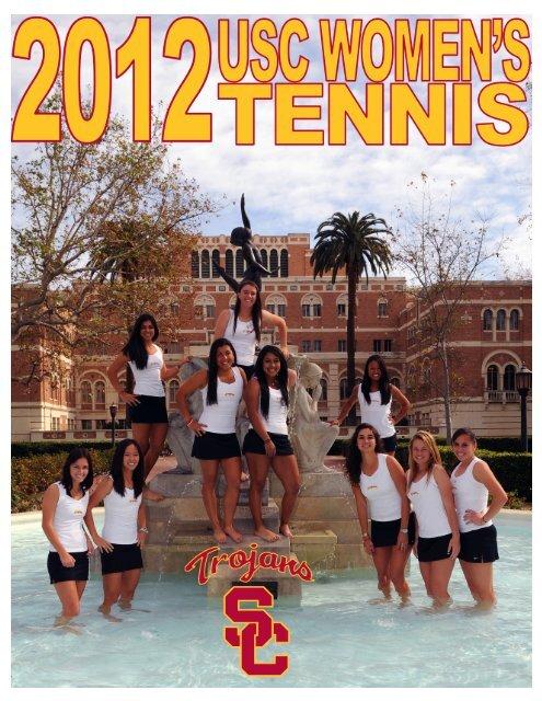 2012 USC WOMEN'S TENNIS - Community