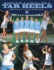 2008-09 UNC Women's Tennis Media - North Carolina