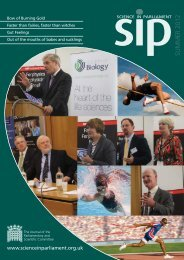 Science in Parliament Summer 2012 - Institute of Physics and ...