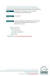 Introduction - Greenleaf Publishing