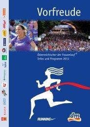 Österreichischer dm Frauenlauf ® Infos und Programm 2011