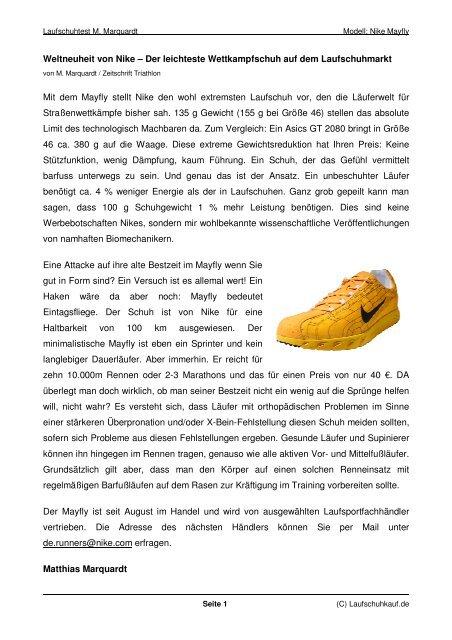 zum zum Nike TriathlonTestbericht Nike Wettkampfschuh TriathlonTestbericht OkiuZPX