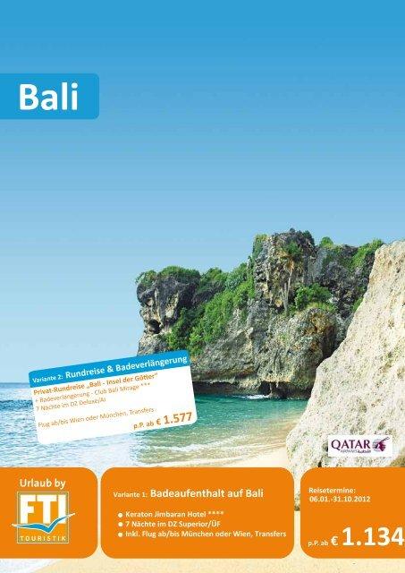 Bali - Komet-Reisen