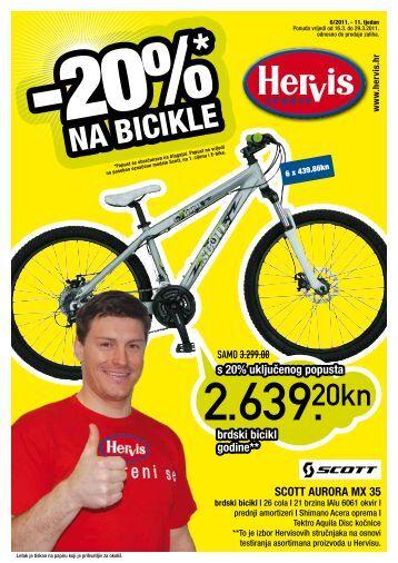 NA BICIKLE NA BICIKLE - Hervis