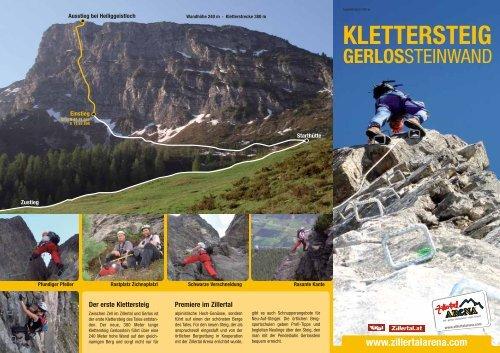 Klettersteig Zillertal : Climbhow ferrata klettersteig workshops in zillertal Ötztal und