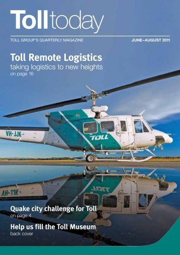 Toll Remote Logistics - TOLL Group