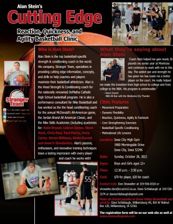 Who is Alan Stein? - Snow Valley Iowa Basketball School