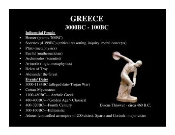 GREECE - NMSU Theatre Arts