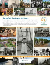 Springfield Celebrates 125 Years - City of Springfield