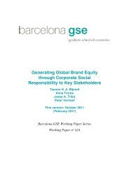 Barcelona GSE Working Paper Series Working Paper nº ... - Research