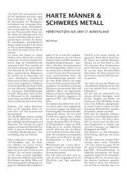 HARTE MÄNNER & SCHWERES METALL - Wolf Reiser