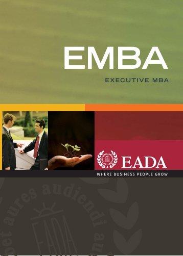 Executive MBA Barcelona - Eada