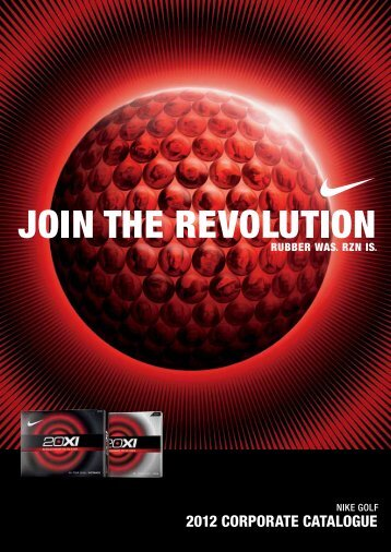 2012 CORPORATE CATALOGUE - Golfballen AS