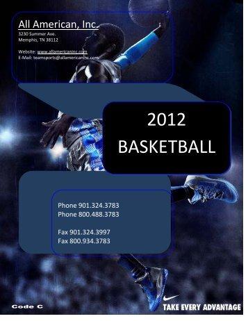 2012 BASKETBALL - All American, Inc.