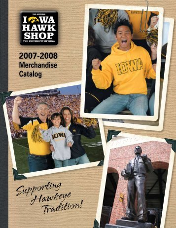 2007-2008 Merchandise Catalog - Iowa Hawk Shop