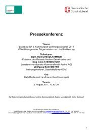 Pressekonferenz - Kommunalkredit Austria AG