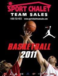 basketball 2011 - Sport Chalet Team Sales