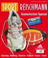 Auslaufschuh Spezial - Reischmann · Mode · Sport · Ravensburg
