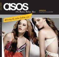 Winningtheonlinefashionrace - ASOS Annual Report & Accounts 2009