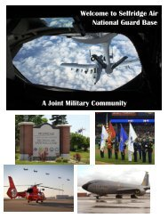 Selfridge Welcome Guide - 127th Wing, Michigan Air National Guard