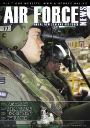 NIGHT VISION >> RECRUITMENT - Royal New Zealand Air Force