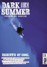 Family Gathering: Who's Shaking What in UK Skiing ... - Dark Summer