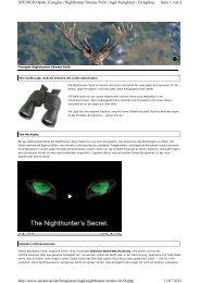 Seite 1 von 3 STEINER-Optik | Fernglas | Nighthunter Xtreme 8x56 ...