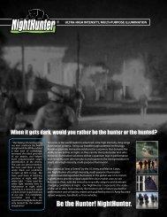 Be the Hunter! NightHunter. - Xenonics Holdings, Inc.